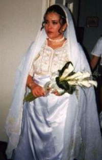 Sari Wedding Dress at Church