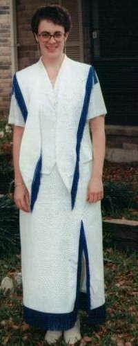 Custom Western Dress